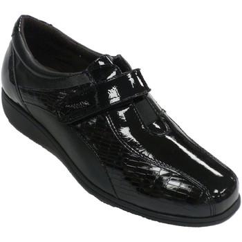 Sapatos Mulher Mocassins Doctor Cutillas Sapato mulher especial em palmilhas de c negro