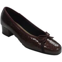 Sapatos Mulher Escarpim Roldán Apartamentos de tipo de sapato de mulher burdeos