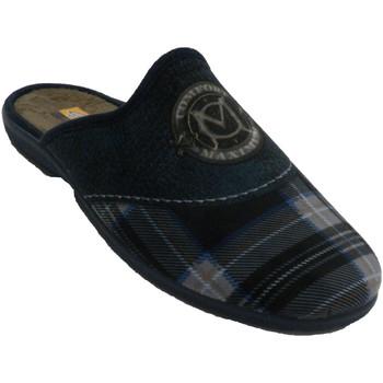 Sapatos Homem Chinelos Aguas Nuevas Homem de tênis aberto atrás de manta e e azul