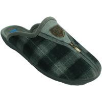Sapatos Homem Chinelos Made In Spain 1940 Homem aberto de sapato de inverno atrás gris