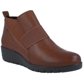Sapatos Mulher Botins Pepe Menargues 1204 Botines Casual de Mujer castanho