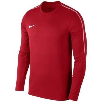 Textil Homem Sweats Nike Park 18 Crew Top Training Vermelho