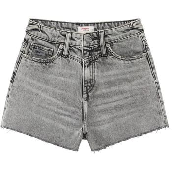 Textil Rapariga Shorts / Bermudas Pepe jeans ROXIE Cinza