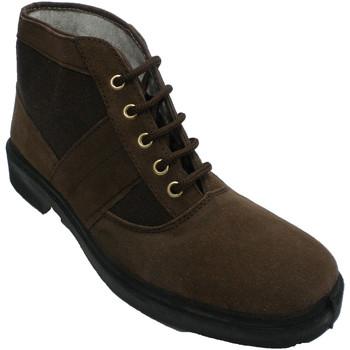 Sapatos Homem Botas baixas Vallera Trabalho de inicialização e tipo de tela marrón