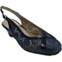 Sapatos Mulher Sandálias Trebede Sapato aberto feminino aberto atrás da l azul