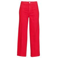 Textil Mulher Calças de ganga bootcut Tommy Hilfiger BELL BOTTOM HW CCLR Vermelho