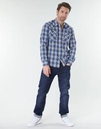 Textil Homem Calças Jeans Levi's 502™ TAPER Azul