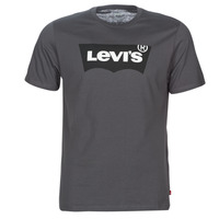 Textil Homem T-Shirt mangas curtas Levi's HOUSEMARK GRAPHIC TEE Cinza