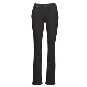 Textil Mulher Calças de ganga bootcut Levi's 725 HIGH RISE BOOTCUT Preto