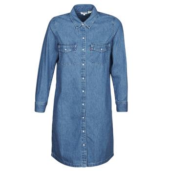 Textil Mulher Vestidos curtos Levi's SELMA DRESS Azul