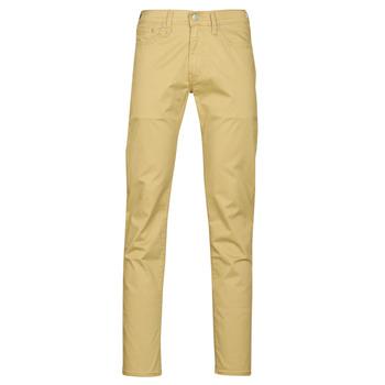 Textil Homem Calças Levi's 511 SLIM FIT Bege