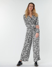 Textil Mulher Macacões/ Jardineiras Only ONLOPHELIA Preto / Branco
