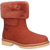 Sapatos Mulher Botas de neve Timberland A241X CHAMONIX Rojo