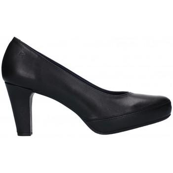 Sapatos Mulher Escarpim Fluchos D5794 Mujer Negro noir