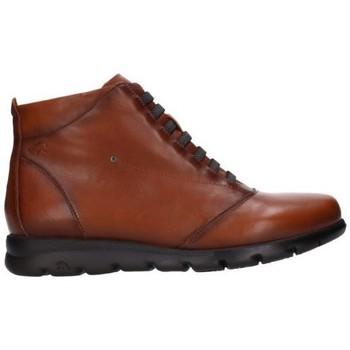 Sapatos Mulher Botas baixas Fluchos F0356 Mujer Cuero marron