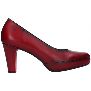 Sapatos Mulher Escarpim Fluchos D5794 Mujer Burdeos rouge