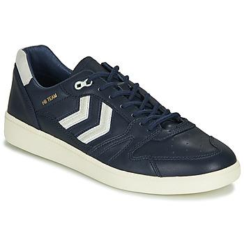 Sapatos Homem Sapatilhas Hummel HB TEAM CREST Azul