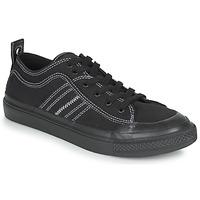 Sapatos Homem Sapatilhas Diesel S-ASTICO LOW Preto / Branco