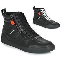 Sapatos Homem Sapatilhas de cano-alto Diesel S-DVELOWS Preto