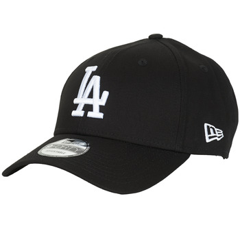 Acessórios Boné New-Era LEAGUE ESSENTIAL 9FORTY LOS ANGELES DODGERS Preto / Branco