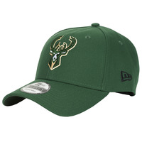 Acessórios Boné New-Era NBA THE LEAGUE MILWAUKEE BUCKS Verde