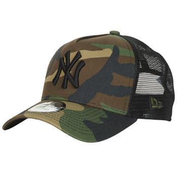 Acessórios Boné New-Era CLEAN TRUCKER NEW YORK YANKEES Camuflagem / Cáqui