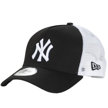 Acessórios Boné New-Era CLEAN TRUCKER NEW YORK YANKEES Preto / Branco