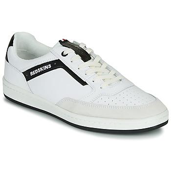 Sapatos Homem Sapatilhas Redskins YELLE Branco / Preto