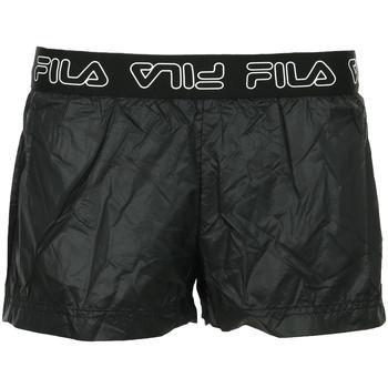 Textil Mulher Shorts / Bermudas Fila Amal Shorts Wn's Preto