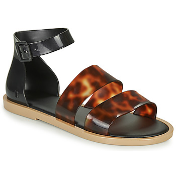 Sapatos Mulher Sandálias Melissa MODEL SANDAL Preto / Leopardo