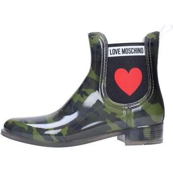 Sapatos Mulher Botas de borracha Love Moschino JA21013G06 Multicolore