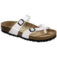 Sapatos Rapaz Sandálias Birkenstock MAYARI Multicolore
