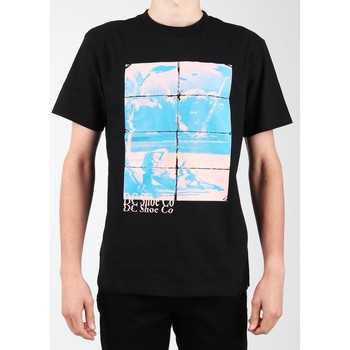 Textil Homem T-Shirt mangas curtas DC Shoes DC EDYZT03746-KVJ0 black