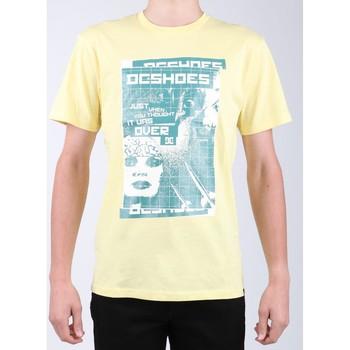 Textil Homem T-Shirt mangas curtas DC Shoes DC SEDYZT03769-YZL0 yellow