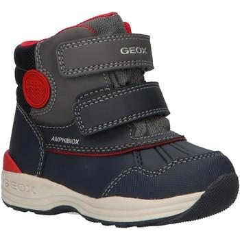Sapatos Rapaz Botas de neve Geox B841GA 054FU B N GULP Azul