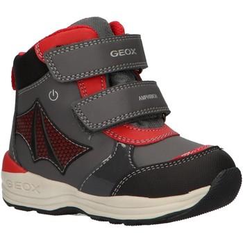 Sapatos Rapaz Botas de neve Geox B841GC 054FU B N GULP Gris