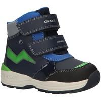 Sapatos Rapaz Botas de neve Geox B841GC 054FU B N GULP Azul