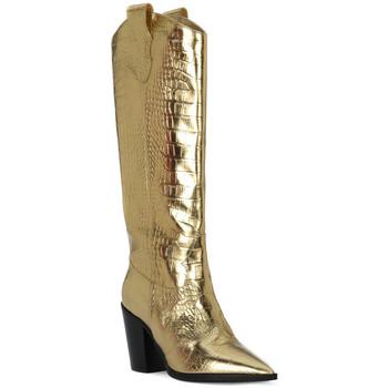 Sapatos Mulher Botas Priv Lab COCCO ORO Beige