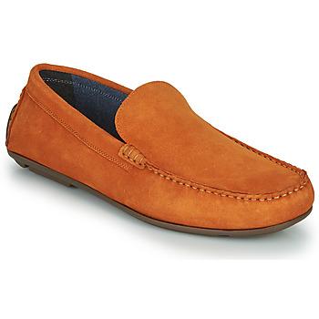 Sapatos Homem Mocassins André BIOUTY Laranja