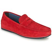 Sapatos Homem Mocassins André SKY Vermelho