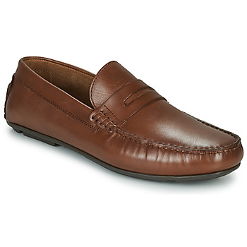 Sapatos Homem Mocassins André SLOTI Conhaque