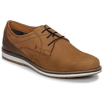 Sapatos Homem Sapatos André LINOS Conhaque