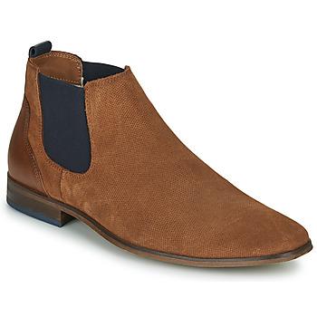 Sapatos Homem Sapatos André WALOU Conhaque
