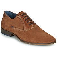 Sapatos Homem Richelieu André WALACE Conhaque