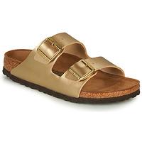 Sapatos Mulher Chinelos Birkenstock ARIZONA Ouro