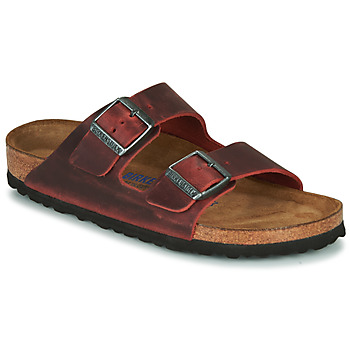 Sapatos Mulher Chinelos Birkenstock ARIZONA SFB LEATHER Bordô