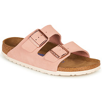 Sapatos Mulher Chinelos Birkenstock ARIZONA SFB LEATHER Rosa