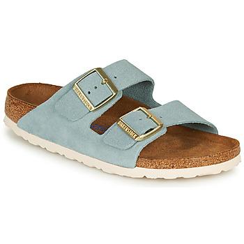 Sapatos Mulher Chinelos Birkenstock ARIZONA SFB LEATHER Azul