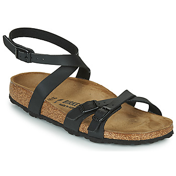 Sapatos Mulher Sandálias Birkenstock BLANCA Preto