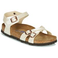 Sapatos Mulher Sandálias Birkenstock KUMBA SFB Bege
